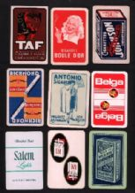 Collectible Cigarette  Playing Cards 9 different singles #114
